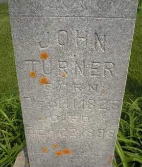 TURNER, JOHN - Cedar County, Iowa | JOHN TURNER