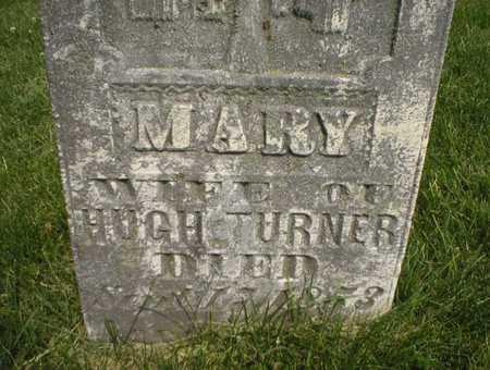 CAIN TURNER, MARY - Cedar County, Iowa | MARY CAIN TURNER