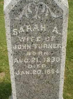 TURNER, SARAH - Cedar County, Iowa | SARAH TURNER