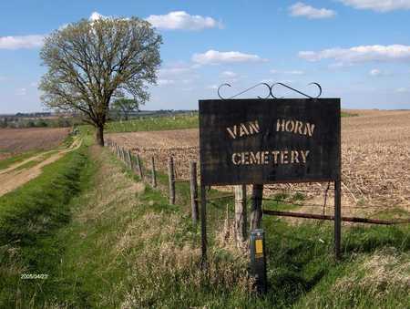 VAN HORN, CEMETERY - Cedar County, Iowa   CEMETERY VAN HORN