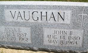 VAUGHN, ANNE E. - Cedar County, Iowa | ANNE E. VAUGHN