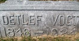 VOGT, DETLEF - Cedar County, Iowa | DETLEF VOGT