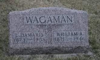 WAGAMAN, WILLIAM A. - Cedar County, Iowa | WILLIAM A. WAGAMAN