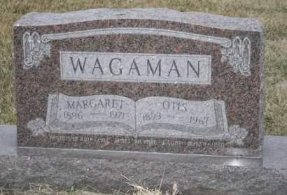 WAGAMAN, OTIS - Cedar County, Iowa   OTIS WAGAMAN