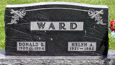 WARD, DONALD EVERETTE - Cedar County, Iowa | DONALD EVERETTE WARD