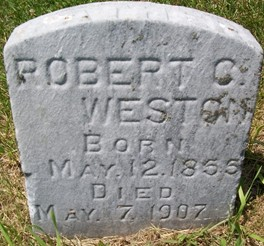 WESTON, ROBERT C. - Cedar County, Iowa | ROBERT C. WESTON