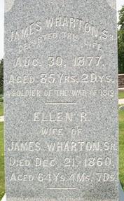 WHARTON, ELLEN R. - Cedar County, Iowa | ELLEN R. WHARTON