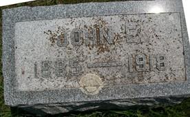 WHARTON, JOHN E. - Cedar County, Iowa   JOHN E. WHARTON