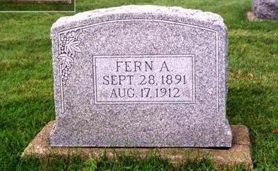 WHYMAN, FERN A. - Cedar County, Iowa | FERN A. WHYMAN