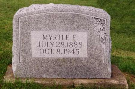 WHYMAN, MYRTLE E. - Cedar County, Iowa | MYRTLE E. WHYMAN