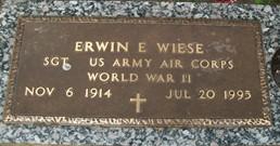 WIESE, ERWIN E. - Cedar County, Iowa | ERWIN E. WIESE
