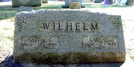 WILHELM, HATTIE CERENA - Cedar County, Iowa | HATTIE CERENA WILHELM