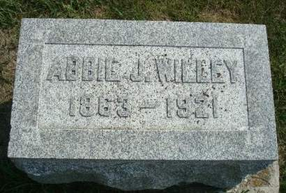 WILLEY, ABBIE J. - Cedar County, Iowa | ABBIE J. WILLEY