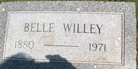 WILLEY, BELLE M. - Cedar County, Iowa   BELLE M. WILLEY
