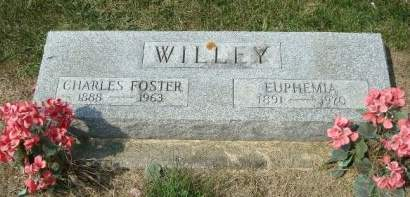 WILLEY, CHARLES FOSTER - Cedar County, Iowa | CHARLES FOSTER WILLEY