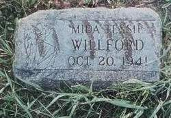 WILLFORD, MIDA TESSIE - Cedar County, Iowa | MIDA TESSIE WILLFORD