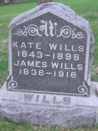 WILLS, JAMES - Cedar County, Iowa   JAMES WILLS
