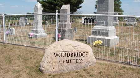 WOODBRIDGE, CEMETERY - Cedar County, Iowa   CEMETERY WOODBRIDGE