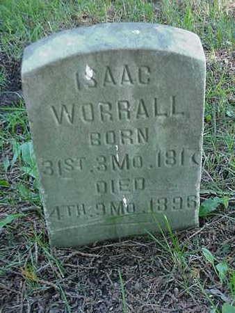 WORRALL, ISAAC - Cedar County, Iowa   ISAAC WORRALL