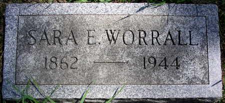 WORRALL, SARA E. - Cedar County, Iowa | SARA E. WORRALL