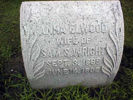 WRIGHT, ANNA - Cedar County, Iowa | ANNA WRIGHT