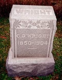 WRIGHT, C.G. - Cedar County, Iowa | C.G. WRIGHT
