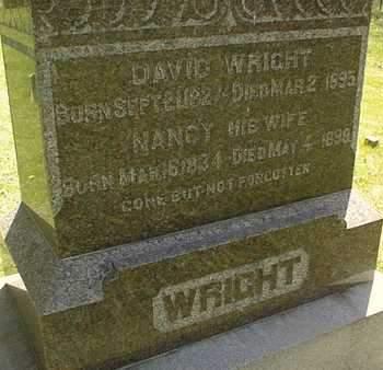 WRIGHT, DAVID - Cedar County, Iowa | DAVID WRIGHT