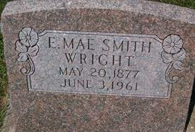 SMITH WRIGHT, ELECTRA MAE - Cedar County, Iowa | ELECTRA MAE SMITH WRIGHT