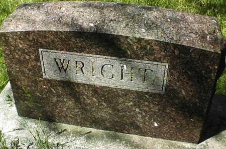 WRIGHT, FAMILY MONUMENT - Cedar County, Iowa   FAMILY MONUMENT WRIGHT