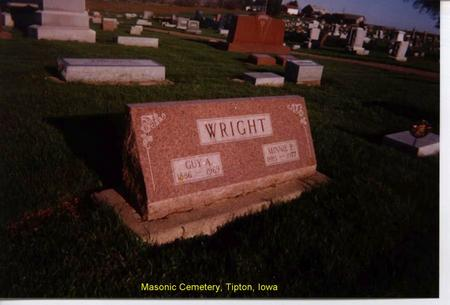 WRIGHT, GUY - Cedar County, Iowa | GUY WRIGHT