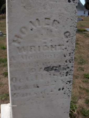 WRIGHT, HOMER C. - Cedar County, Iowa | HOMER C. WRIGHT