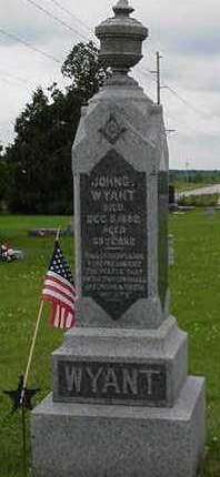 WYANT, JOHN G. - Cedar County, Iowa   JOHN G. WYANT