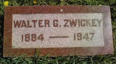 ZWICKEY, WALTER G. - Cedar County, Iowa   WALTER G. ZWICKEY