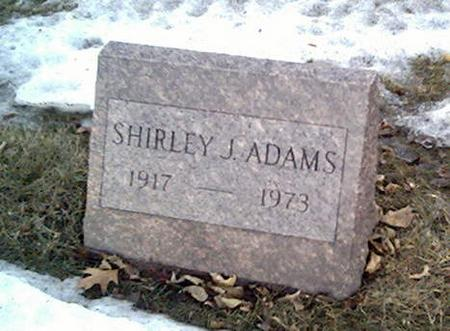 ADAMS, SHIRLEY - Cerro Gordo County, Iowa | SHIRLEY ADAMS
