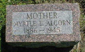 ALCORN, MYRTLE L. - Cerro Gordo County, Iowa | MYRTLE L. ALCORN