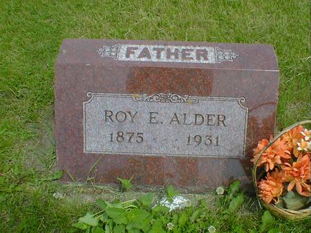 ALDER, ROY E. - Cerro Gordo County, Iowa | ROY E. ALDER
