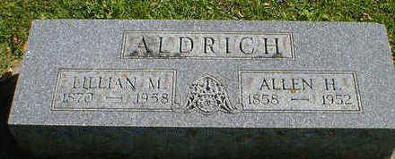 ALDRICH, ALLEN H. - Cerro Gordo County, Iowa | ALLEN H. ALDRICH