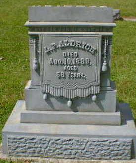 ALDRICH, L.  P. - Cerro Gordo County, Iowa   L.  P. ALDRICH