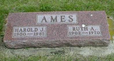AMES, RUTH A. - Cerro Gordo County, Iowa   RUTH A. AMES