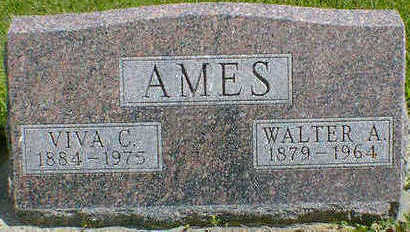 AMES, WALTER A. - Cerro Gordo County, Iowa | WALTER A. AMES