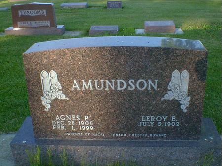 AMUNDSON, AGNES P. - Cerro Gordo County, Iowa | AGNES P. AMUNDSON