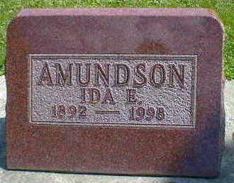 AMUNDSON, IDA E. - Cerro Gordo County, Iowa | IDA E. AMUNDSON