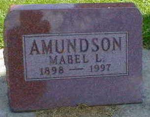 AMUNDSON, MABEL L. - Cerro Gordo County, Iowa | MABEL L. AMUNDSON