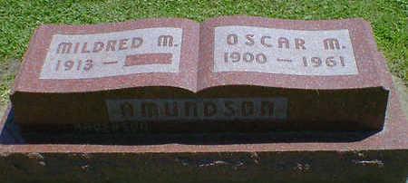 AMUNDSON, OSCAR M. - Cerro Gordo County, Iowa | OSCAR M. AMUNDSON