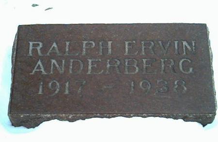ANDERBERG, RALPH - Cerro Gordo County, Iowa | RALPH ANDERBERG