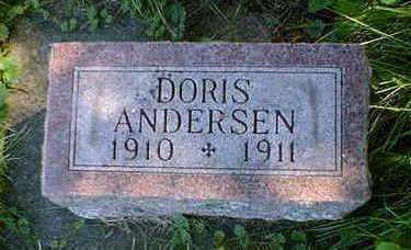 ANDERSEN, DORIS - Cerro Gordo County, Iowa | DORIS ANDERSEN