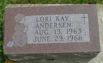 ANDERSEN, LORI KAY - Cerro Gordo County, Iowa | LORI KAY ANDERSEN