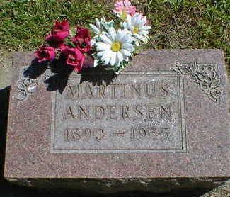 ANDERSEN, MARTINUS - Cerro Gordo County, Iowa | MARTINUS ANDERSEN