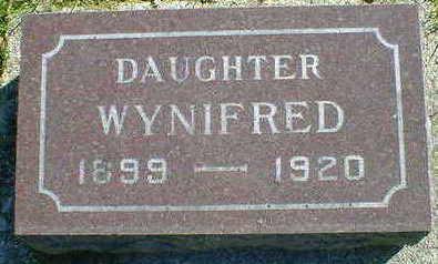 ANDERSEN, WYNIFRED - Cerro Gordo County, Iowa | WYNIFRED ANDERSEN