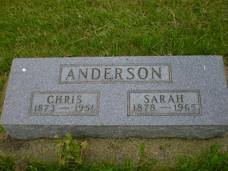 ANDERSON, CHRIS - Cerro Gordo County, Iowa | CHRIS ANDERSON